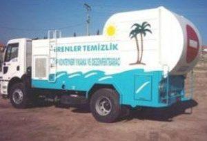 Автомобили за измиване на контейнери и дезинфекция