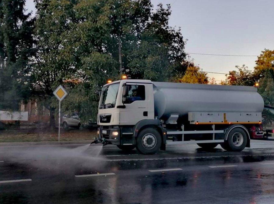 Община Севлиево с нова придобивка – миячна машина MAN TGM